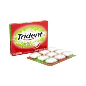 Trident Splash Lime Strawberry