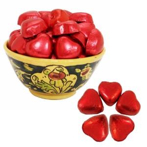 بسته 500 گرمی شکلات قلبی دسِئو فرمند