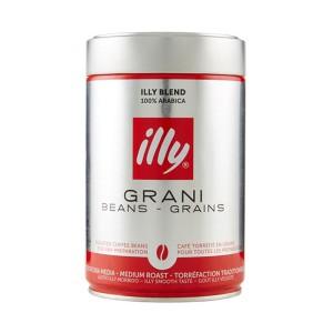Illy Grani Medium Roast Coffee Can