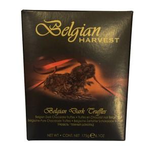 ترافل کادویی بلژین هاروست مدل شکلات تلخ
