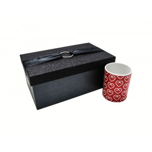 جعبه کادویی اکلیلی مشکی (سایز کوچک)