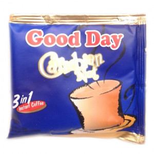 good day coffee 3 in 1 caribbean nut