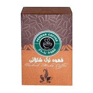 بسته قهوه ترک پندار مدل شکلاتی