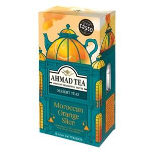 بسته دمنوش میوه ای احمد تی مدل Moroccan Orange Slice