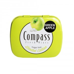 2 عدد خوشبوکننده دهان سیب سبز کمپاس