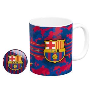 ماگ و پیکسل طرح بارسلونا