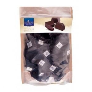 بسته یک کیلویی شکلات دارک 70% مرداس