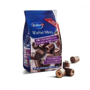Bahlsen Waffel Minis Milk Chocolate