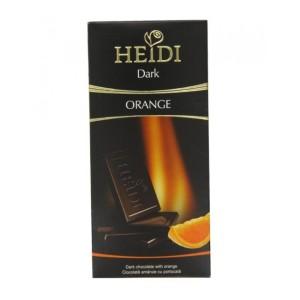 تابلت شکلات تلخ با مغز پرتقال هایدی