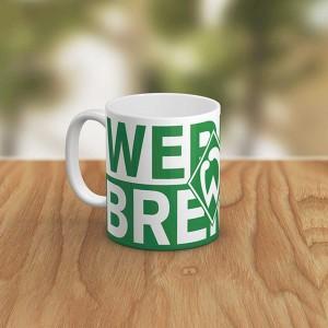 ماگ سرامیکی طرح SV Werder Bremen