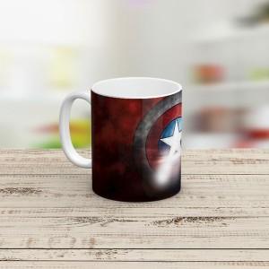 ماگ سرامیکی طرح Captain America