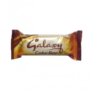 galaxy chocolate cake bar