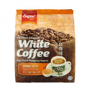 وایت کافی سوپر 15 عددی 3 در 1 با شکر قهوه ای