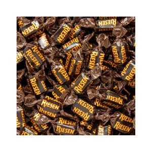 بسته یک کیلویی تافی شکلات تلخ ریزن