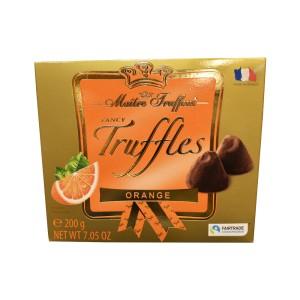 ترافل شکلاتی فرانسوی با طعم پرتقال Maitre Truffout