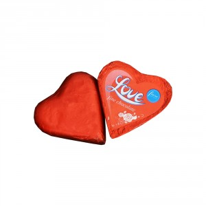 2 عدد شکلات کادویی قلبی ارمنی 24 گرمی